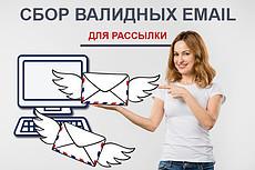 Почищу email адреса от не валидных для рассылки 17 - kwork.ru