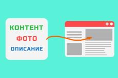 Наполнение сайта товарами 12 - kwork.ru