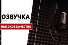 Озвучу текст для рекламы, зачитка текстов 17 - kwork.ru