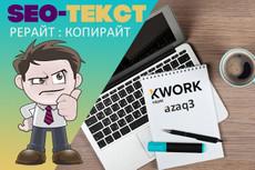 Качественный рерайт 31 - kwork.ru