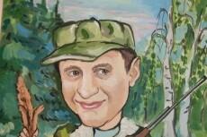 Нарисую шарж по фото 32 - kwork.ru