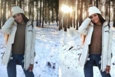 Ретушь, цветокоррекция фотографий, монтаж видео для инстаграм 12 - kwork.ru