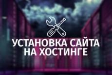 Установка CMS на хостинг 20 - kwork.ru