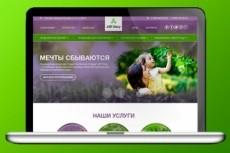 Дизайн сайта, landing page 342 - kwork.ru