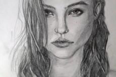 Напишу портрет в карандаше 18 - kwork.ru