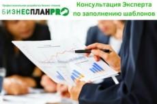 Шаблон финансовой модели Бизнес - плана от Эксперта в Excel 6 - kwork.ru