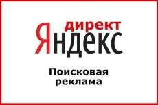 Создание и настройка кампании Яндекс.Директ на поиске 7 - kwork.ru