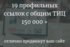 20 вечных жирных ссылок ИКС 90000 ТИЦ 154000 + Бонус 22 - kwork.ru