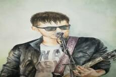 Нарисую портрет в стиле GTA 5 по фото 26 - kwork.ru