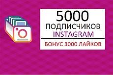 30000 лайков на фото в Instagram. Можно распределить 18 - kwork.ru
