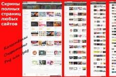 Скриншот всей страницы сайта целиком 17 - kwork.ru