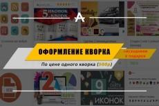Оформление страниц в соцсетях 3 - kwork.ru
