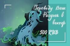 Сделаю качественный векторный рисунок 14 - kwork.ru