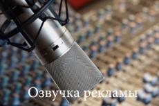 Озвучу текст для рекламы, презентации, видеоролика. разными голосами 7 - kwork.ru