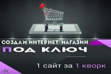 Интернет магазин под ключ 10 - kwork.ru