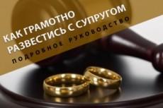 Составлю исковое заявление о разделе имущества супругов 8 - kwork.ru