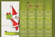 Графический дизайн настенного или настольного перекидного календаря 19 - kwork.ru