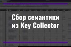 Составлю 100 НЧ НК ключевых запроса 22 - kwork.ru