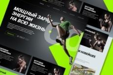 Сайт системы видеонаблюдения landing page 62 - kwork.ru