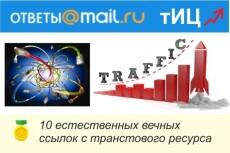 12 ссылок с сервиса Ответы mail. ru для продвижения сайта или услуг 22 - kwork.ru