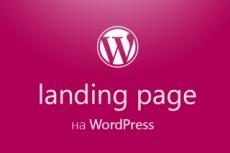 Создам лендинг на wordpress 22 - kwork.ru