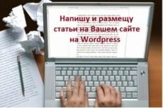 Наполнение сайта товарами на WordPress 23 - kwork.ru