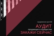 Анализ группы в вк 8 - kwork.ru