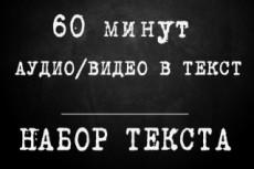 Расшифровка аудио- и видеофайлов 12 - kwork.ru