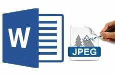 Переведу файлы PDF в Word 6 - kwork.ru
