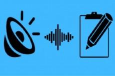 Транскрибация 50 минут аудио или видео в текст 5 - kwork.ru