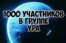 200 участников по критериям в группу Вконтакте 12 - kwork.ru