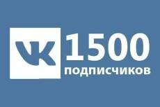 600 живых подписчиков Вк вступят в вашу группу или паблик Вконтакте 18 - kwork.ru