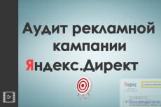 Аудит рекламной кампании в Яндекс Директ 6 - kwork.ru