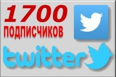 1700 подписчиков на Ваш аккаунт в Twitter 10 - kwork.ru