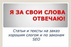 Напишу 4 SEO статьи 15 - kwork.ru