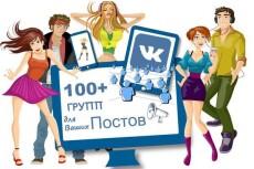приведу 100+ реальных участников в группу ВК. Ручная работа, 2 суток 3 - kwork.ru