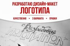 Разработать дизайн-макет главной страницы сайта 13 - kwork.ru