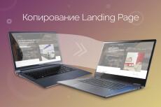 Скопировать Landing page, одностраничный сайт, посадочную страницу 6 - kwork.ru