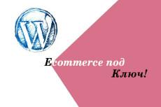 Сайт на Wordpress + Готовая связка для Арбитража 21 - kwork.ru