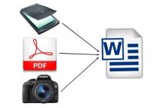 Создам, переконвертирую Ваш файл Word в файл PDF, c PDF наберу в WORD 12 - kwork.ru