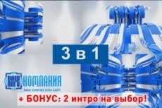 Анимирую ваш логотип для интро 20 - kwork.ru