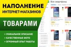 Парсинг товаров из Интернет-магазина 18 - kwork.ru