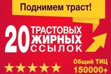 Размещу 10 ссылок в профилях трастовых сайтов. Общий ТИЦ свыше 100 000 23 - kwork.ru