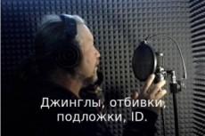 Озвучка 16 - kwork.ru