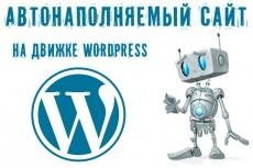сделаю сайт на WordPress 7 - kwork.ru