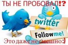 100 ссылок на Ваш сайт со страниц Твиттера 8 - kwork.ru