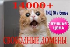 Регистрация домена 14 - kwork.ru