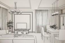 Разработаю полный дизайн-проект интерьера 30 - kwork.ru