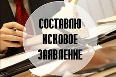 Составление искового заявления 3 - kwork.ru