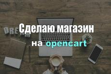 Создам интернет-магазин на Opencart 13 - kwork.ru